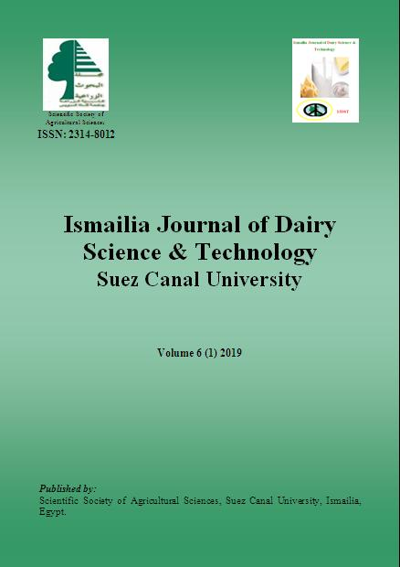 Ismailia Journal of Dairy Science & Technology